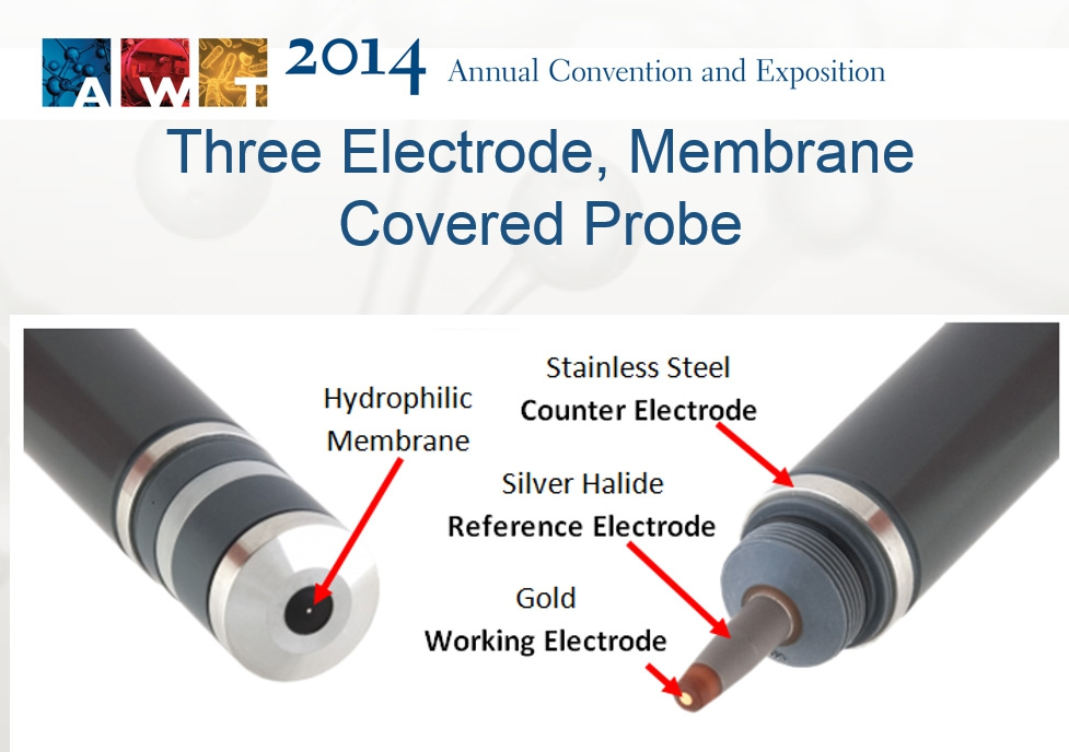 Electrode Membrane Covered Probe