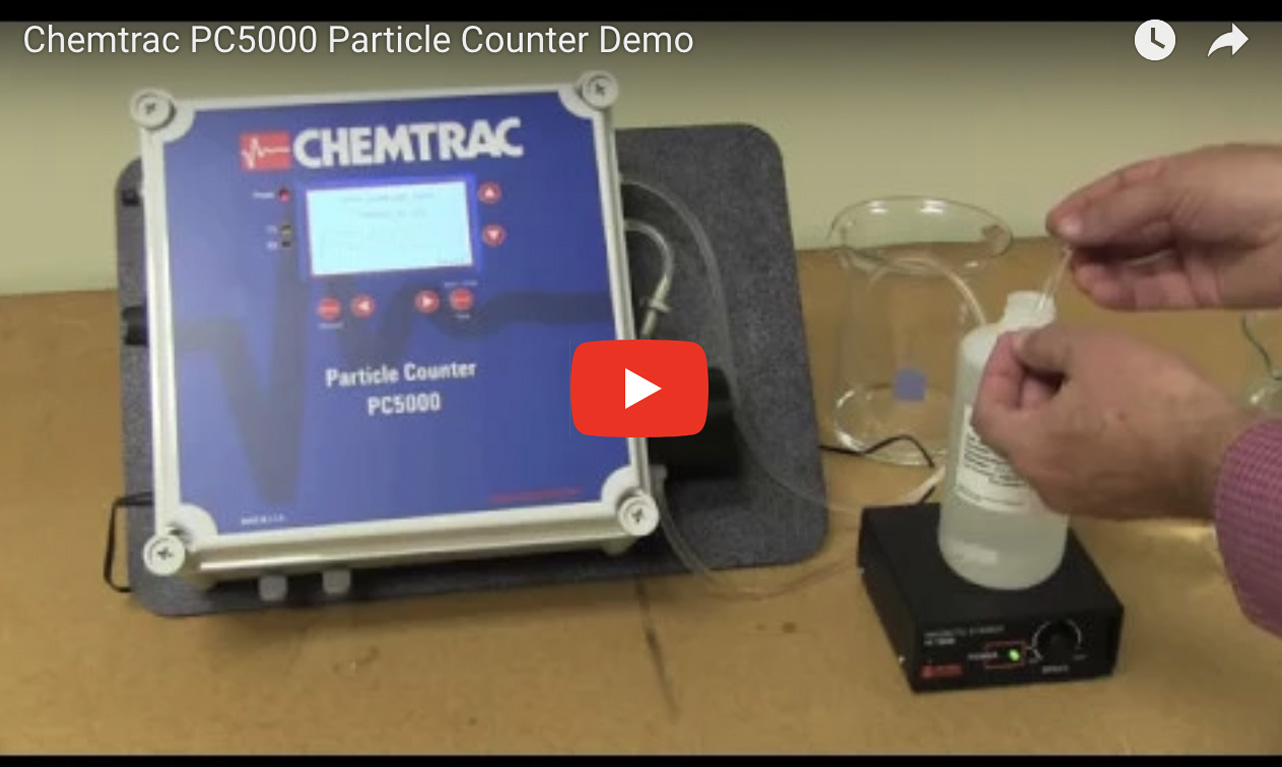 Chemtrac PC5000 Particle Counter Demo