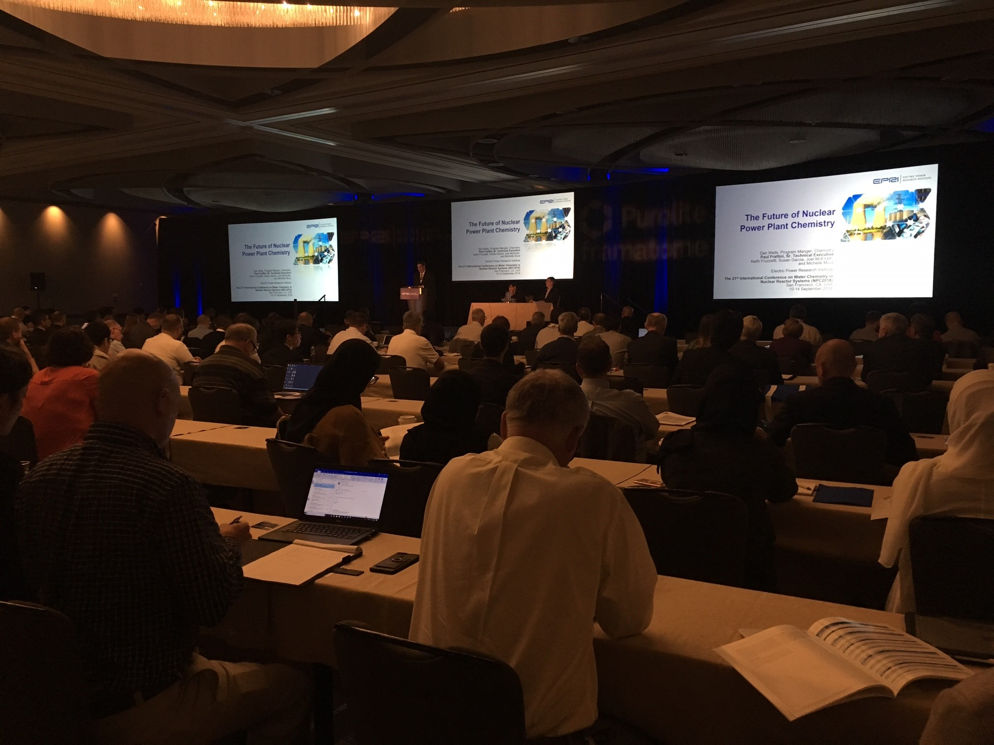 EPRI Nuclear Chemistry Conference in San Francisco