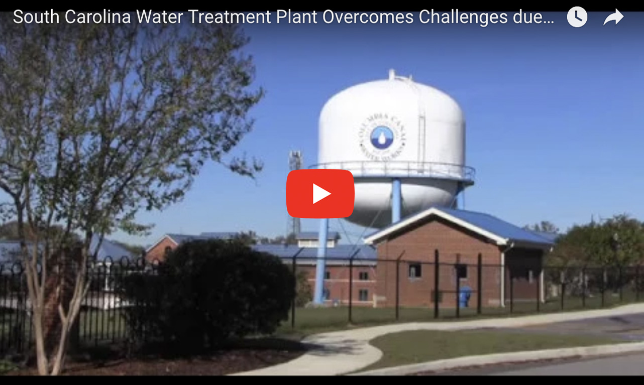 SC Water Treatment Plant Overcomes Challenges due to Epic Flood